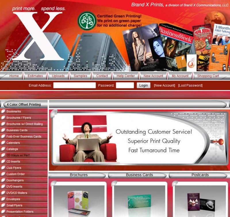 Brand X Prints